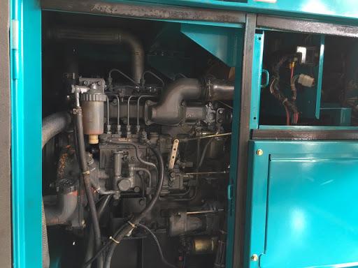Máy phát điện cũ Mitsubishi 100kva